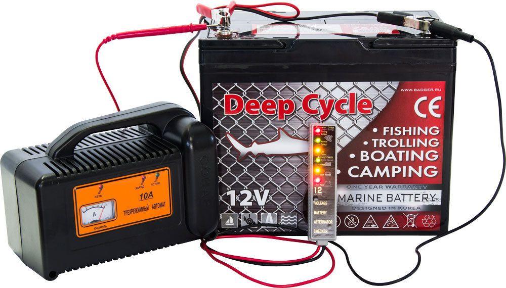 Зарядное для тяговых аккумуляторов 10А (12В) от Ravta