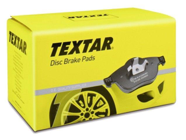 Тормозные колодки Textar передние, комплект VW Polo, Skoda Fabia, Seat [2186602] от Ravta