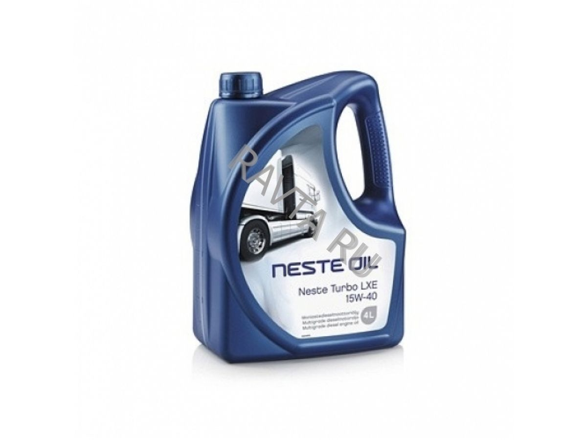 Масло NESTE Turbo LXE 15W-40 (4л) от Ravta