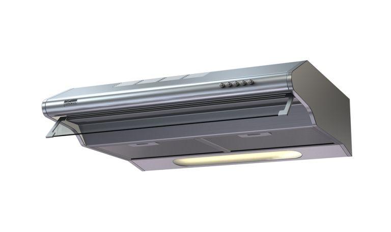 Вытяжка Krona KELLY 500 inox 2M (фильтр в комплекте)Козырьковые вытяжки<br><br><br>Артикул: KELLY 500 inox 2M (фильтр<br>Бренд: Kronasteel<br>Вес (кг): 9<br>Потребляемая мощность (Вт): 280<br>Гарантия производителя: да<br>Уровень шума (дБ): 40<br>Цвет: нержавейка<br>Родина бренда: Германия<br>Тип управления: электронное<br>Материал корпуса: металл/стекло<br>Глубина(см): 50,5<br>Ширина (см): 50<br>Производительность(м3/час): 550<br>Тип вытяжки: козырьковая<br>Тип фильтра в комплекте: жировой + угольный<br>Высота (см): 15<br>Наклонная вытяжка: нет<br>Элементы управления: кнопочное