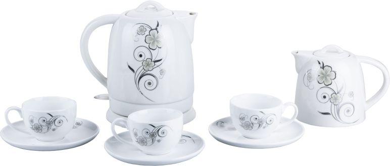 Чайный набор VES 2101, 1,5л керам. от Ravta