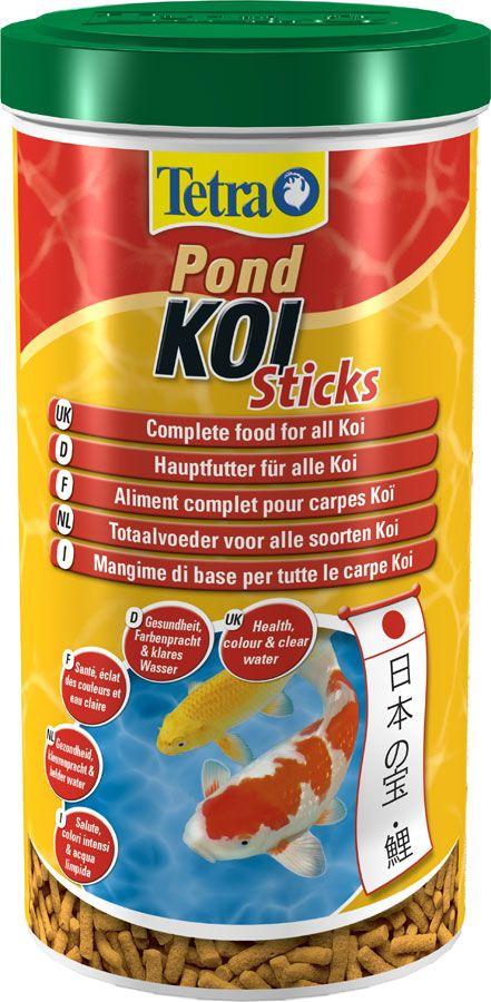 Корм для прудовых рыб TetraPond Koi Sticks 50 L от Ravta