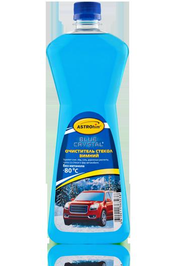 Зимняя жидкость стеклоомывателя -80 Astrohim Blue Crystal AC-751 концентрат серия (1л) от Ravta