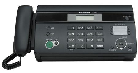 Факс Panasonic KX-FT988RU-B (черный) от Ravta