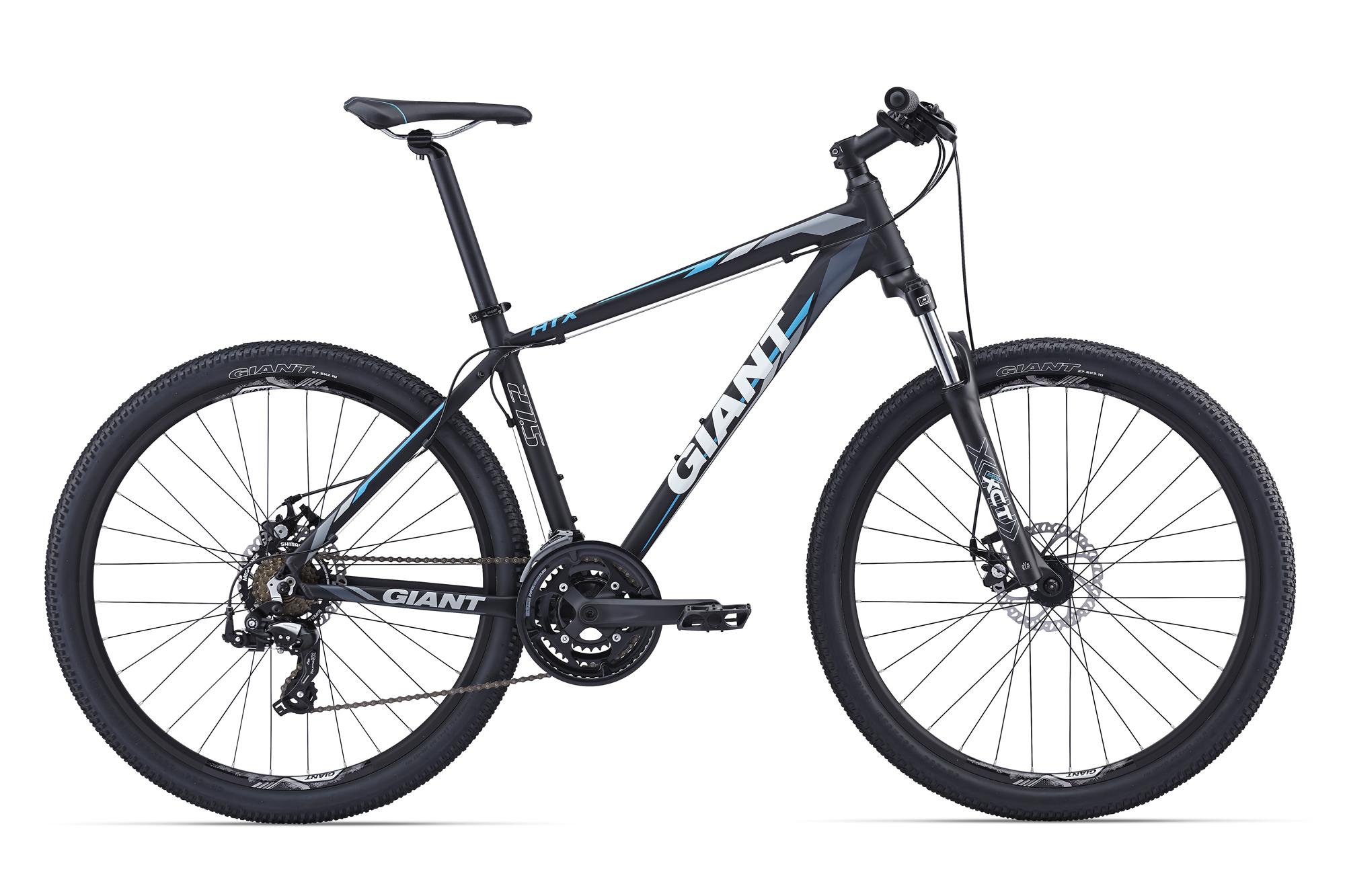 Велосипед ATX 27.5 2 Колесо:27,5 Рама:L Цвет:Черный/СинийВелосипеды<br><br><br>Артикул: 60051626<br>Бренд: Giant<br>Возрастная группа: взрослый<br>Пол: мужской