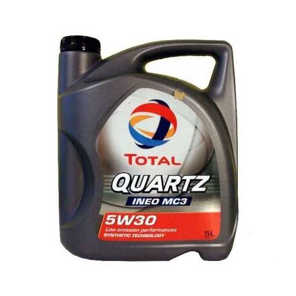 Масло Total Quartz Ineo MC3 5W-30 (5л) от Ravta