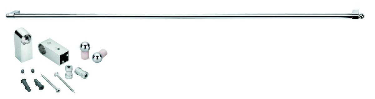 Рейлинг с комплектом крепежа Esprado Platinos 1200мм (арт.0011612E201) от Ravta