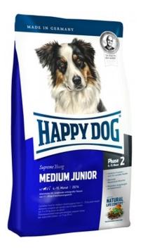 Happy dog Суприм для щенков средних пород: 6-15мес. (Medium Junior 25) 10кг от Ravta