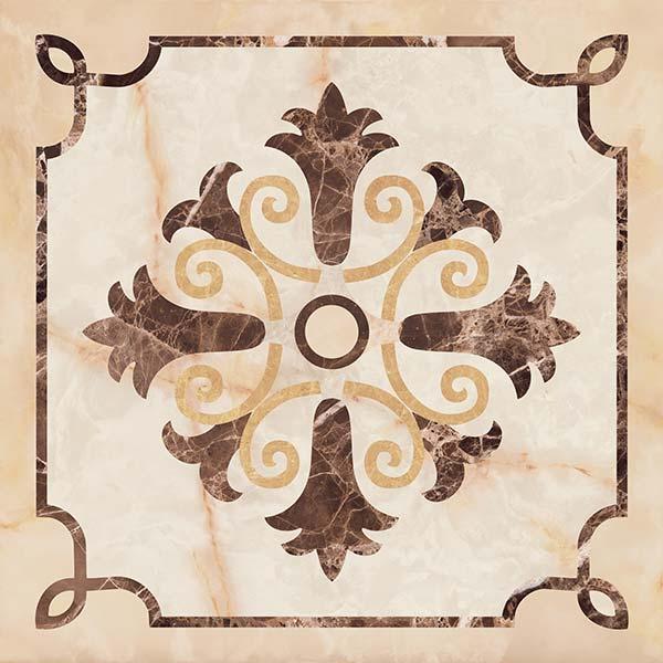 Керамогранит напольный декор Coliseum Gres Сорренто Лирика 450*450 (шт) от Ravta