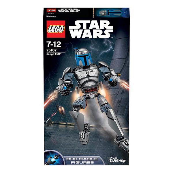 Конструктор Лего Звездные войны (Lego Star Wars) Джанго Фетт, Lego 75107Конструкторы<br><br><br>Артикул: 75107<br>Бренд: Lego<br>Категории: Лего Звездные войны / Lego Star Wars