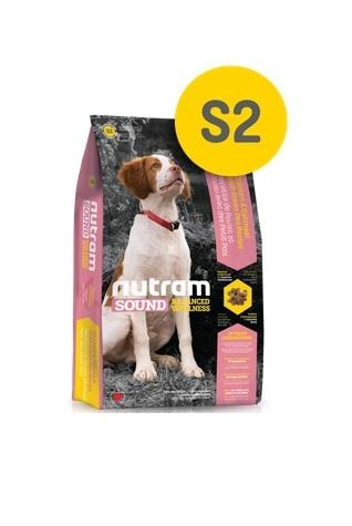 Корм Nutram S2 Puppy WB, для щенков (белый пакет), 20кг от Ravta