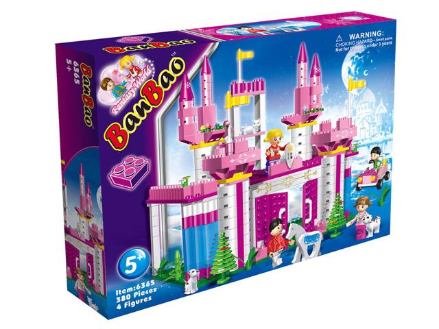 """Конструктор """"Замок"""" (380 дет) в коробке 37,5*28,5*6,5см (6365) от Ravta"""