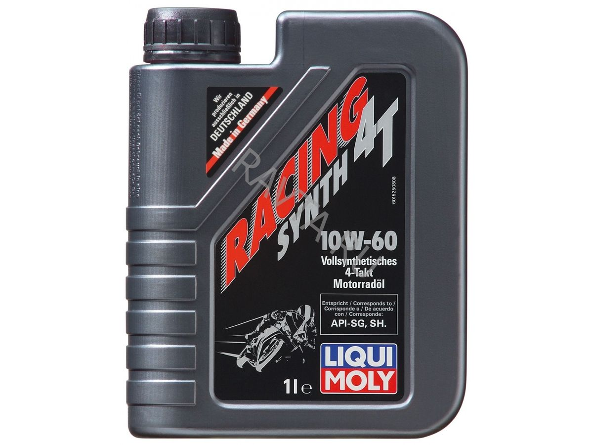 Масло Liqui Moly Racing Synth 4T 10W 60 (1л) от Ravta