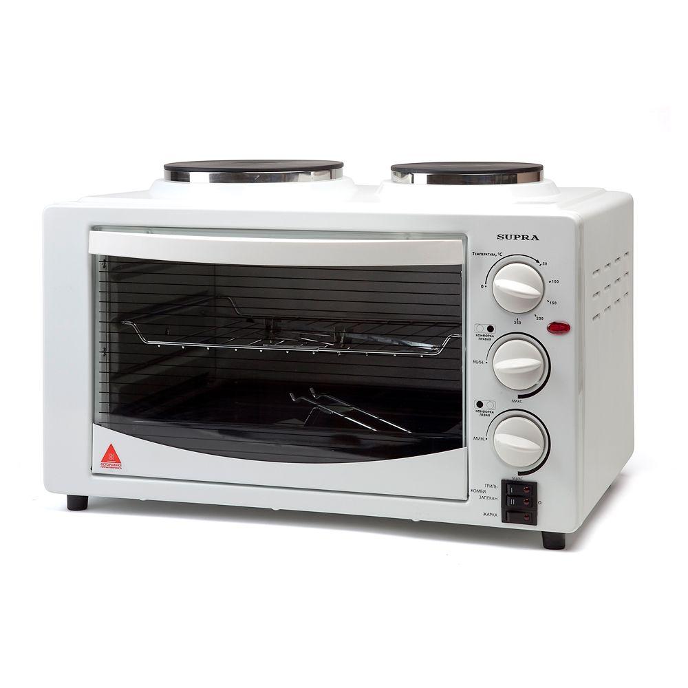 Мини-печь Supra MTS-302 WHITEМинипечи<br><br><br>Бренд: Supra<br>Объем (л): 30<br>Гарантия производителя: да<br>Цвет: белый<br>Мощность (Вт): 1500<br>Наличие конфорок: да<br>Объем (л): 30