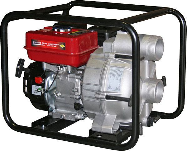 Мотопомпа DDE PTR80, грязевая бензиновая вых.80мм 6.5лс 26м 1080л/мин 3.6л 43кг PTR80 от Ravta