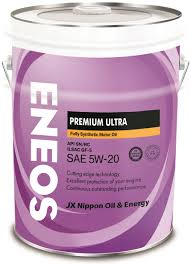 Масло ENEOS Premium Ultra 100% Synt. SN 5/20 (20л) от Ravta