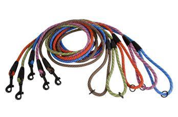 Поводок Hurtta Mountain Rope Малиновый 180см*6мм от Ravta