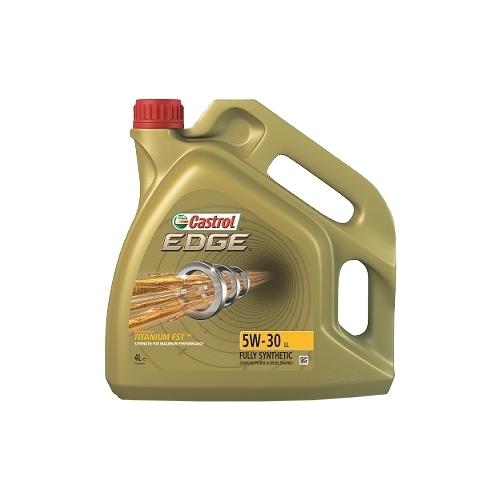 castrol Моторное масло Castrol EDGE 5W-30 LL (4л) 15669A