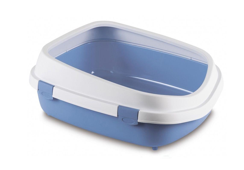 stefanplast Туалет Stefanplast Queen с рамкой, голубой, 55*71*24,5см 21415.гол