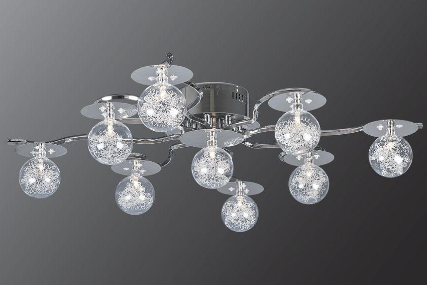 Люстра Геометрия 1-6389-9-CR-LED Y G4Люстры<br>Скидка 20%<br><br>Артикул: 1-6389-9-CR-LED Y G4<br>Бренд: МАКСИСВЕТ<br>Вес (кг): 3,8<br>Коллекция светильников: Геометрия<br>Длина светильника (мм): 810<br>Ширина светильника (мм): 810<br>Высота светильника (мм): 190<br>Цвет арматуры: CR (блестящий хром)<br>Тип цоколя светильника: G4<br>Количество ламп светильника: 9<br>Общая мощность освещения светильника (Вт): 180<br>Размер основания светильника: 145мм<br>Цвет плафона: прозрачный<br>Материалы светильника: металл/стекло