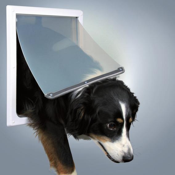 Дверца TRIXIE для собаки 30,8х38 см, белая, с двумя функциями. от Ravta