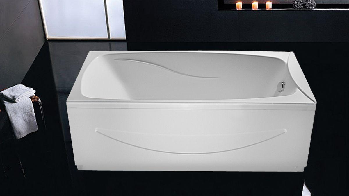 Ванна акриловая Eurolux Сиракузы 150х70х50, объем 230 л от Ravta