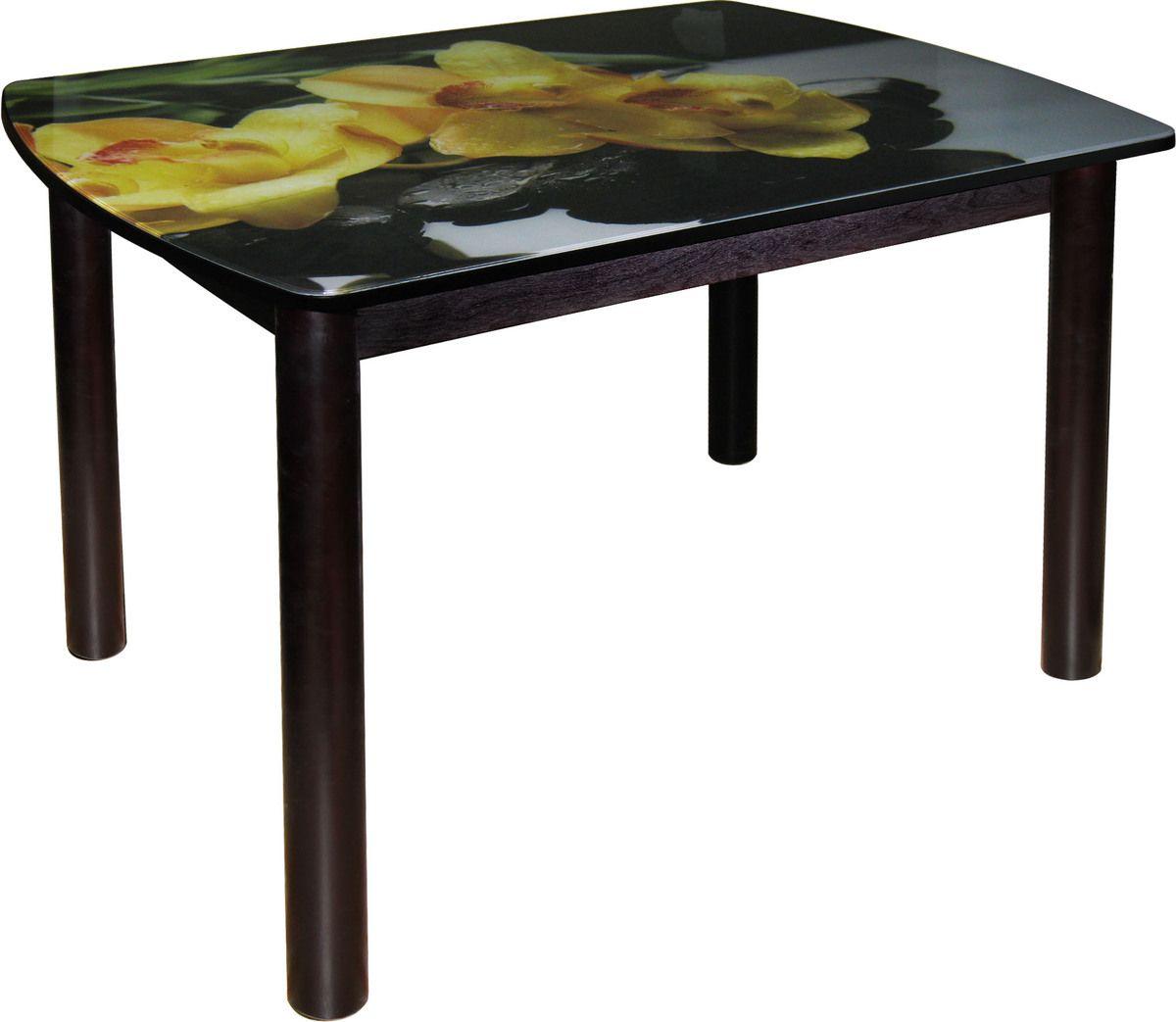Стол с фотопечатью (арт.М142.76) стеклоМебель для дома<br><br><br>Артикул: М142.76<br>Бренд: Ravta<br>Страна-изготовитель: Россия<br>Вид мебели: Стол<br>Каркас мебели: мдф<br>Тип материала мебели: стекло