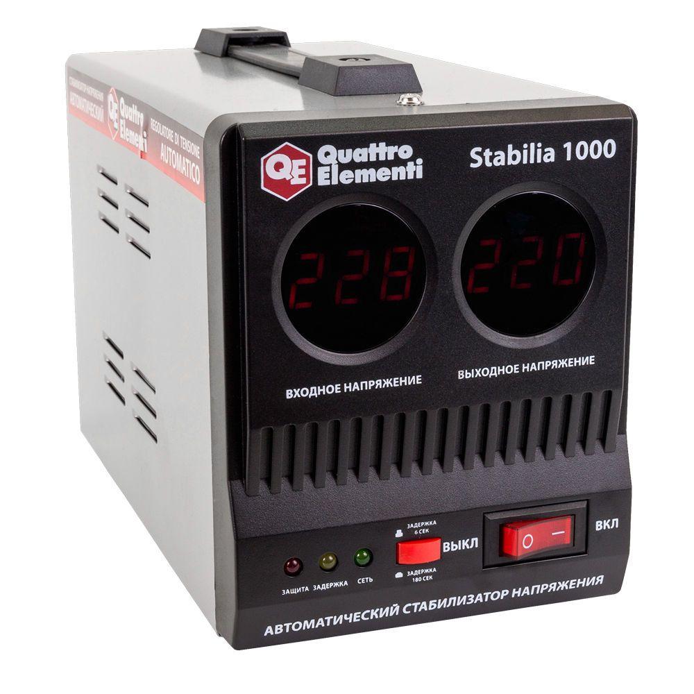 Стабилизатор напряжения QE Stabilia 1000 от Ravta