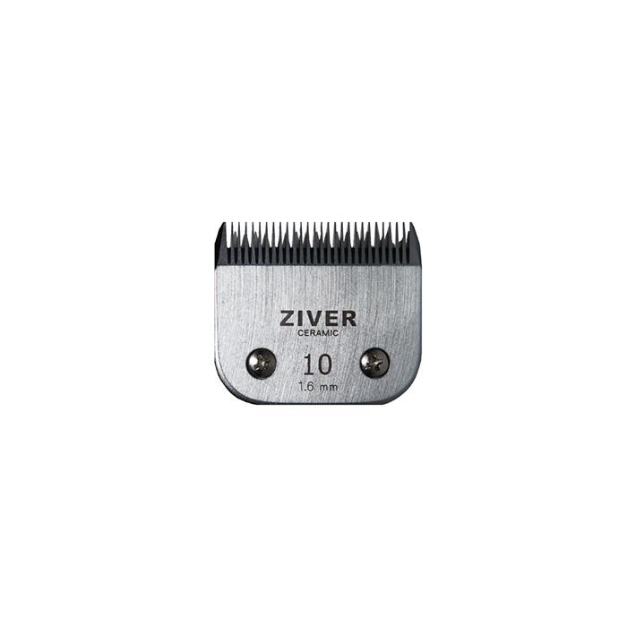 Стригущий нож Ziver универс. для машинок для стрижки, слот А5 - #10c, керамика, 1.6 мм от Ravta
