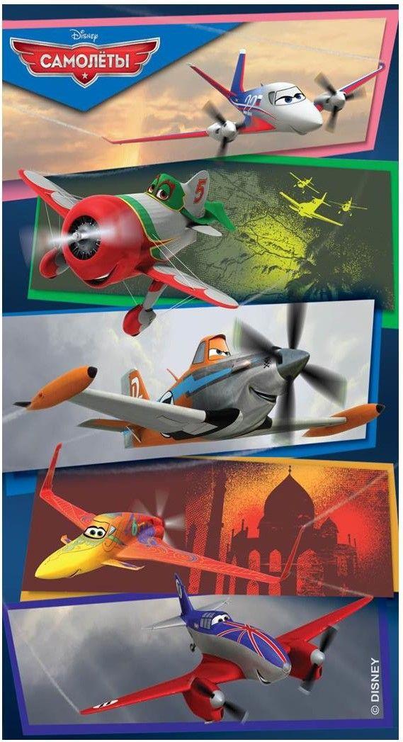 Ковер детский Dinarsu Disney Самолеты (арт.D3PL005 Микс) 1330*1950мм от Ravta