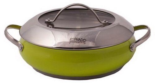 Сотейник с крышкой Esprado Ritade (арт.RITL28GE102)Посуда для готовки<br><br><br>Артикул: RITL28GE102<br>Бренд: Esprado<br>Диаметр посуды (см): 28<br>Крышка в комплекте: да<br>Материал посуды: нержавеющая сталь<br>Вид посуды: сотейник<br>Родина бренда: Дания<br>Коллекция посуды: Ritade<br>Объем посуды (л): 4,2