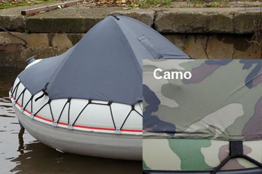 badger Носовой тент на лодку пвх (размер 110*90 см), Camo тент4_camo