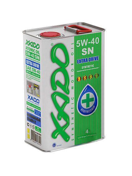 Масло XADO 5W-40 SN (ж/б 4л) от Ravta