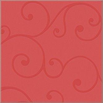 Керамическая плитка напольная Azori Vento Carmine красный 333*333 (шт.) от Ravta
