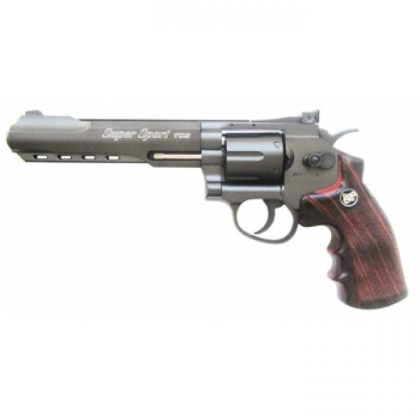 Револьвер пневм. BORNER Super Sport 702, кал. 4,5 мм (с картридж. 6 шт.) от Ravta