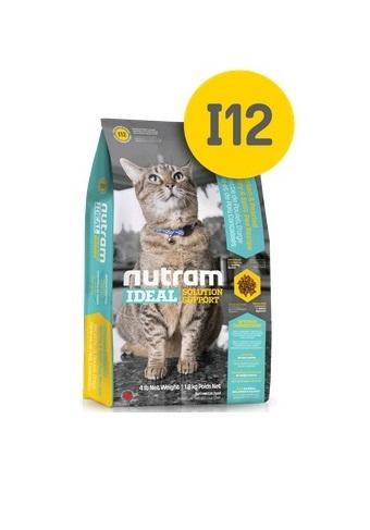 """Корм Nutram I12 Ideal Solution Support Weight Control Cat Food для кошек """"контроль веса"""" 1,8кг от Ravta"""