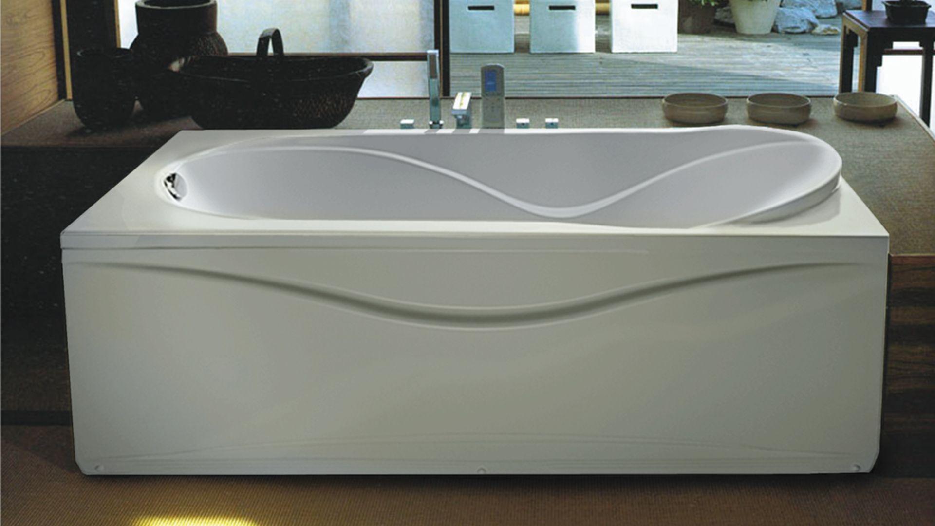 Ванна акриловая Eurolux Оливия 180х80х49, объем 280 л от Ravta