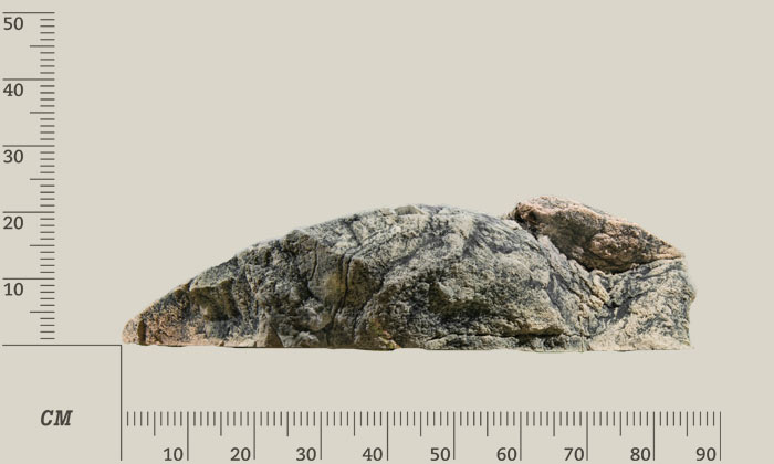 on the rocks Фрагменты скал, модуль H 41H