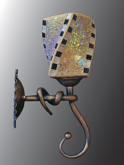 Светильник (Бра) Этника 3-5695-1-RC+BK E27 от Ravta