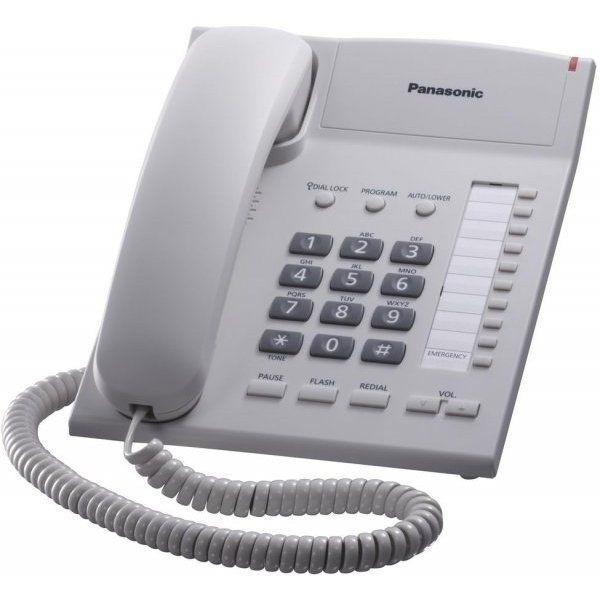 Телефон проводной Panasonic KX-TS 2382 RUW белыйПроводные телефоны<br><br><br>Артикул: KX-TS2382RUW<br>Бренд: Panasonic<br>Вес упаковки (кг): 0,933