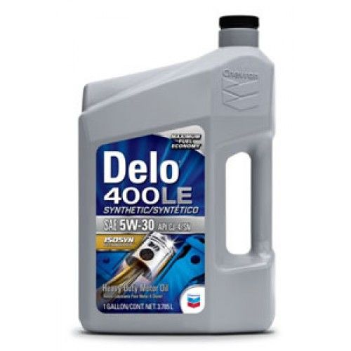 chevron Масло CHEVRON DELO 400 LE SYNTHETIC 5W-30 (3.785л). 271210339