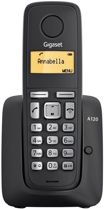Телефон DECT Gigaset A120 RUS Black RUS (черный) от Ravta