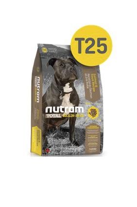Корм Nutram T25 GF Salmon & Trout Dog Food, беззерновой для собак из мяса лосося и форели, 13,6кг от Ravta