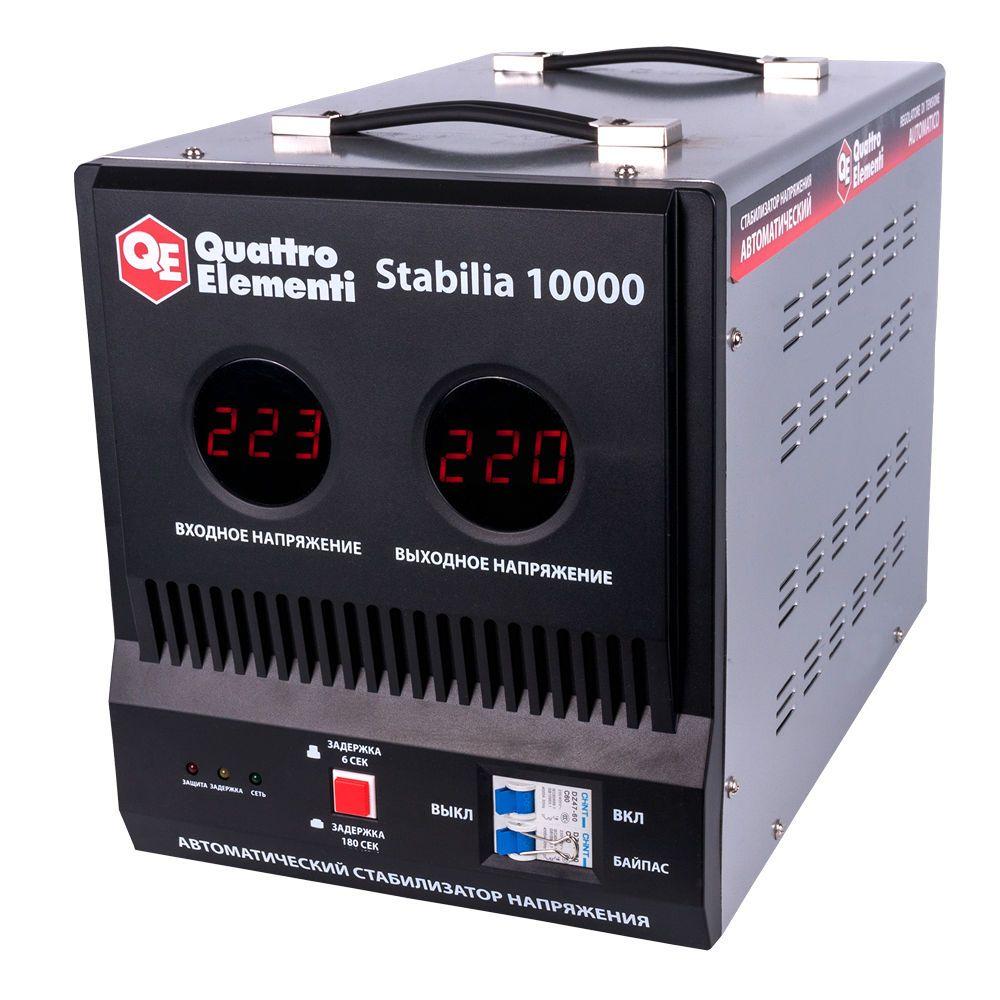 Стабилизатор напряжения QE Stabilia 10000 от Ravta