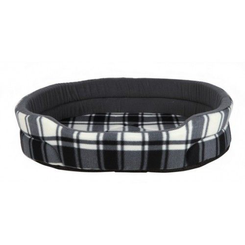 Лежак TRIXIE для собаки Merlo 50*35см, велюр, бело-серыйДомики, лежаки, когтеточки<br><br><br>Артикул: 37131<br>Бренд: TRIXIE<br>Вид: Лежаки<br>Страна-изготовитель: Китай