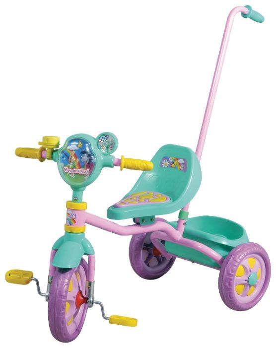 Трехколесный Велосипед 1Toy - Ну, Погоди! (арт. Т54031)Велосипеды для детей<br><br><br>Артикул: Т54031<br>Бренд: 1 TOY<br>Категории: Велосипеды трехколесные с ручкой<br>Вид поставки: необходима сборка