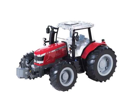 Tomy Tomy Трактор MASSEY FERGUSON 6613 с подсветкой и звуком,3 бат.ААА,24х33х22см,кор. (арт. ТО43078)