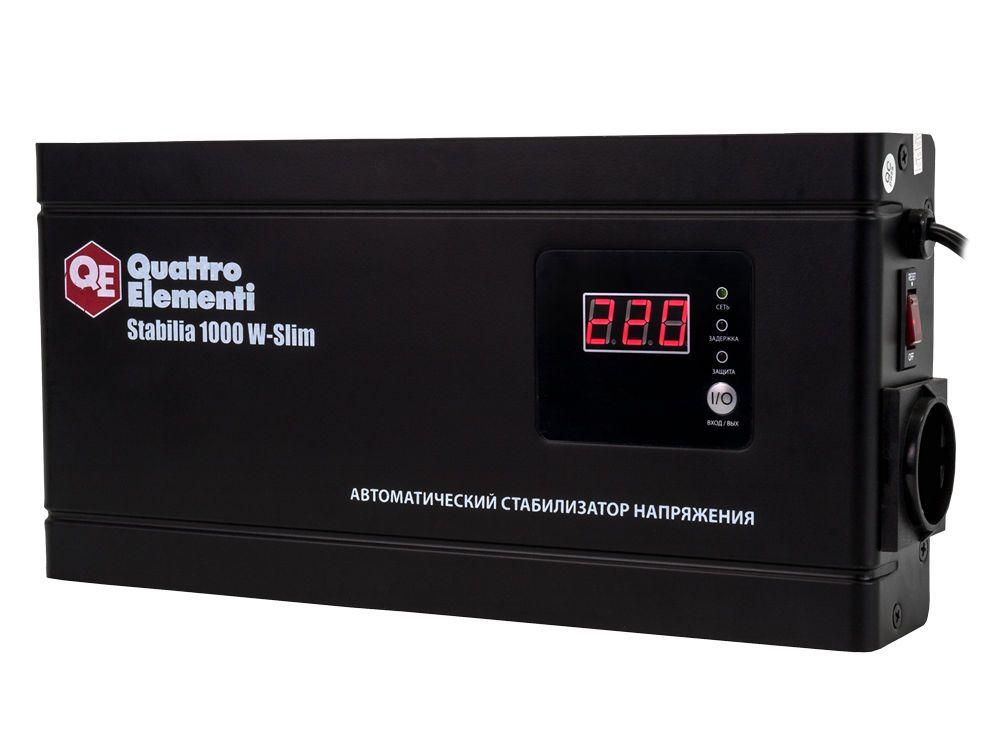 Стабилизатор напряжения QE Stabilia 1000 W-Slim от Ravta