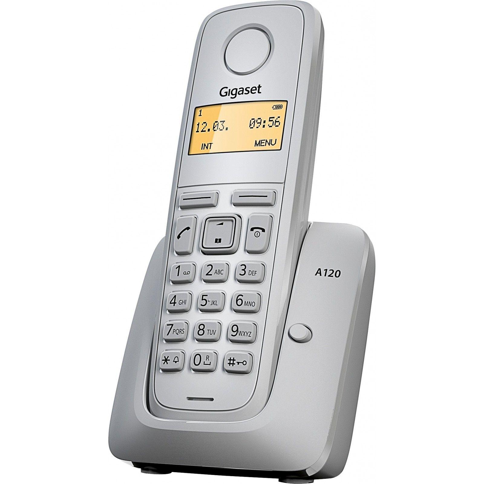 Телефон DECT Gigaset A120 White RUS (белый) от Ravta