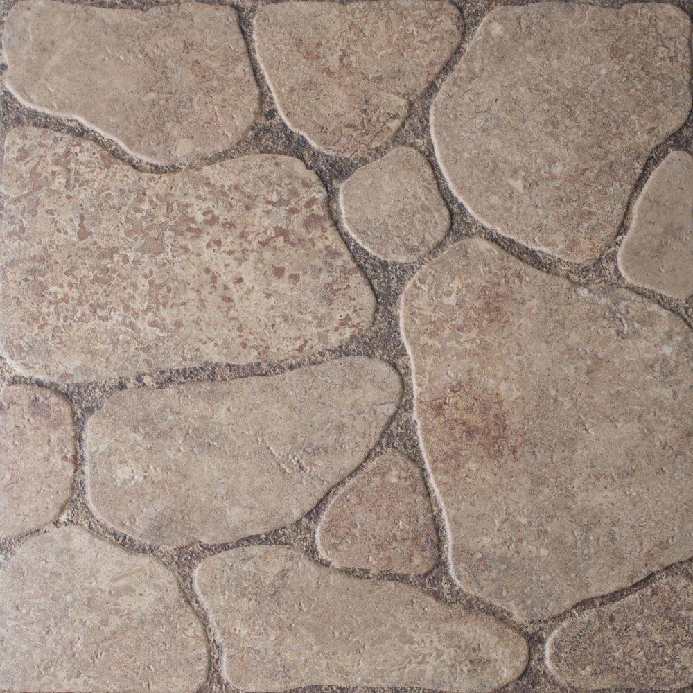Керамогранит напольный Шахтинская плитка Patio 02 бежевый 450*450 (шт.) от Ravta